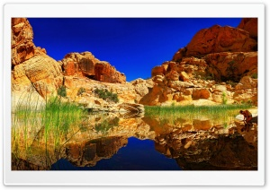 Spectacular Lake Reflection HD Wide Wallpaper for Widescreen