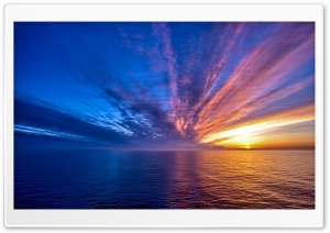 Spectacular Sunset HD Wide Wallpaper for Widescreen