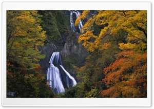 Spectacular Waterfall HD Wide Wallpaper for Widescreen