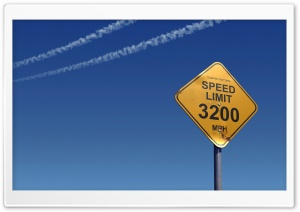 Speed Limit HD Wide Wallpaper for Widescreen