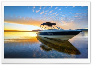 Speed Motor Boat HD Wide Wallpaper for Widescreen