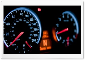 Speedometer HD Wide Wallpaper for Widescreen