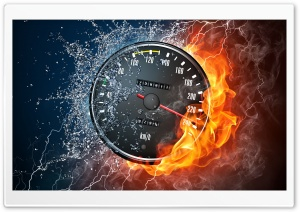 Speedometer Fast Ultra HD Wallpaper for 4K UHD Widescreen desktop, tablet & smartphone