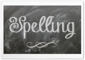 Spelling HD Wide Wallpaper for Widescreen