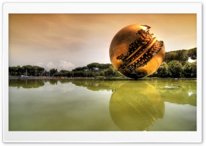 Sphere by Pomodoro HD Wide Wallpaper for Widescreen