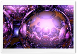 Spheres HD Wide Wallpaper for Widescreen
