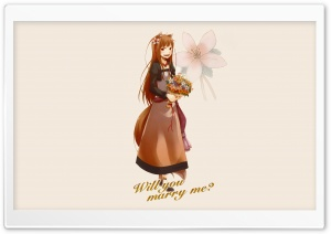 Spice And Wolf, Horo II HD Wide Wallpaper for Widescreen