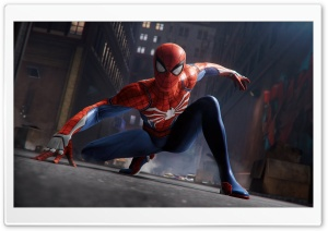 Spider Man 2018 game HD Wide Wallpaper for 4K UHD Widescreen desktop & smartphone