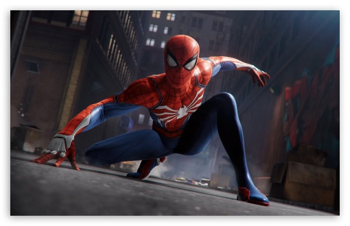 Download Spider Man 2018 game HD Wallpaper