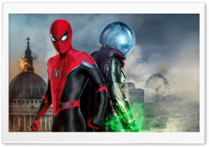 Spider-Man Far From Home Hydro-Man 5K Ultra HD Wallpaper for 4K UHD Widescreen desktop, tablet & smartphone