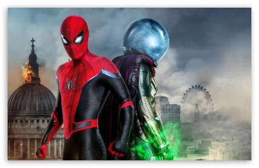 Spider Man Far From Home Hydro Man 5k 4k Hd Desktop