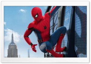 Spider-Man Homecoming HD Wide Wallpaper for Widescreen