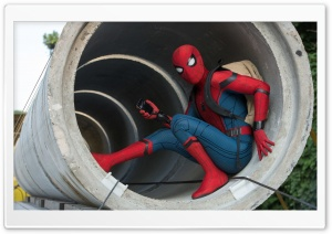 Spider Man Homecoming 2017 HD Wide Wallpaper for Widescreen