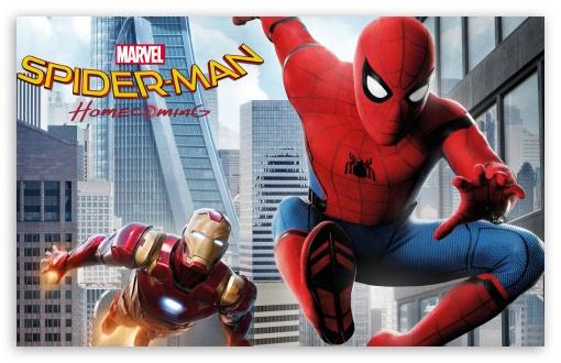 Spider Man Homecoming Iron Man 4k Hd Desktop Wallpaper For 4k