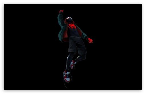 Spider Man Into The Spider Verse Black Ultra Hd Desktop Background Wallpaper For 4k Uhd Tv Widescreen Ultrawide Desktop Laptop Tablet Smartphone