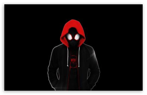 Spider Man Into The Spider Verse Dark Ultra Hd Desktop