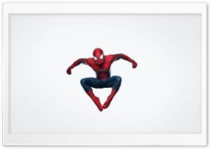 Spider Man Jumping HD Wide Wallpaper for Widescreen