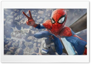 Spider Man Selfie HD Wide Wallpaper for 4K UHD Widescreen desktop & smartphone