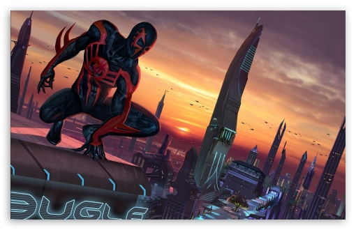 Spider Man 2099 Wallpaper 1080p: Spider-Man Shattered Dimensions 4K HD Desktop Wallpaper