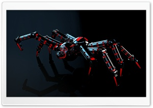 Spider Robot HD Wide Wallpaper for Widescreen