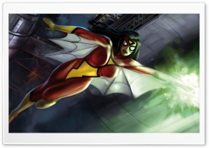 Spider Woman (Marvel Comics) HD Wide Wallpaper for Widescreen