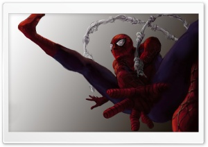 Spiderman Artwork HD Wide Wallpaper for Widescreen