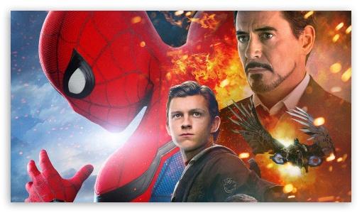 Spiderman Homecoming Iron Man 4k Hd Desktop Wallpaper For 4k