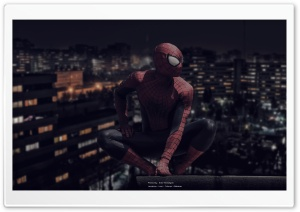 SpiderMan In IRAN HD Wide Wallpaper for 4K UHD Widescreen desktop & smartphone