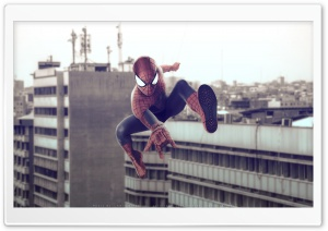 Spiderman in Iran by Amir Rezaeyan HD Wide Wallpaper for Widescreen