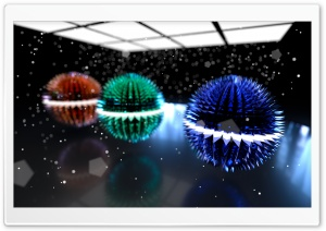 Spiked Spheres Ultra HD Wallpaper for 4K UHD Widescreen desktop, tablet & smartphone