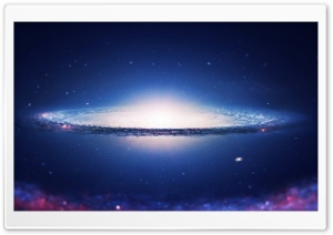 Spiral Galaxy HD Wide Wallpaper for Widescreen