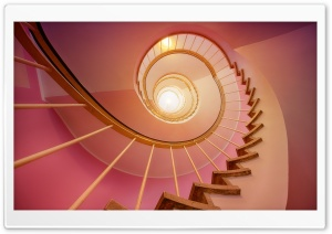 Spiral Staircase Ultra HD Wallpaper for 4K UHD Widescreen desktop, tablet & smartphone