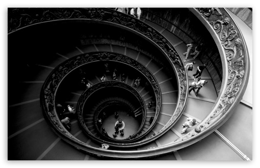 Spiral Stairs Of The Vatican Museums HD wallpaper for Wide 16:10 5:3 Widescreen WHXGA WQXGA WUXGA WXGA WGA ; HD 16:9 High Definition WQHD QWXGA 1080p 900p 720p QHD nHD ; UHD 16:9 WQHD QWXGA 1080p 900p 720p QHD nHD ; Standard 4:3 5:4 3:2 Fullscreen UXGA XGA SVGA QSXGA SXGA DVGA HVGA HQVGA devices ( Apple PowerBook G4 iPhone 4 3G 3GS iPod Touch ) ; Tablet 1:1 ; iPad 1/2/Mini ; Mobile 4:3 5:3 3:2 16:9 5:4 - UXGA XGA SVGA WGA DVGA HVGA HQVGA devices ( Apple PowerBook G4 iPhone 4 3G 3GS iPod Touch ) WQHD QWXGA 1080p 900p 720p QHD nHD QSXGA SXGA ;