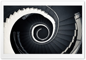 Spiral Stairscase HD Wide Wallpaper for Widescreen