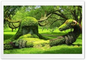 Spirits of the Wood, Montreal Botanical Garden Ultra HD Wallpaper for 4K UHD Widescreen desktop, tablet & smartphone