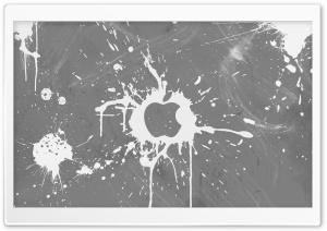 Splash Gray HD Wide Wallpaper for Widescreen