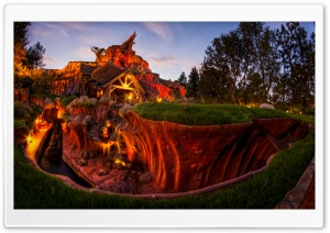 Splash Mountain HD Wide Wallpaper for Widescreen