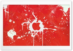 Splash Red HD Wide Wallpaper for Widescreen