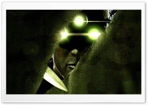Splinter Cell HD Wide Wallpaper for Widescreen