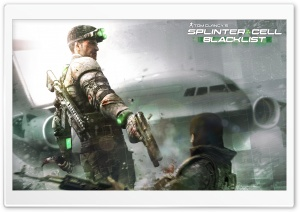 Splinter Cell - Blacklist HD Wide Wallpaper for Widescreen