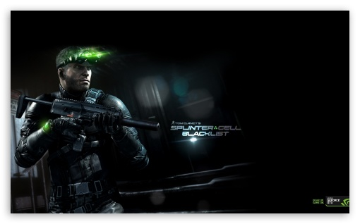 Splinter Cell Blacklist HD wallpaper for Wide 5:3 Widescreen WGA ; HD 16:9 High Definition WQHD QWXGA 1080p 900p 720p QHD nHD ; Mobile 5:3 16:9 - WGA WQHD QWXGA 1080p 900p 720p QHD nHD ;