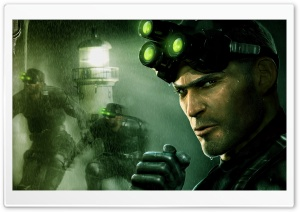 Splinter Cell Pandora Tomorrow 1 HD Wide Wallpaper for Widescreen