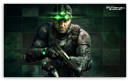 SplinterCell Blacklist HD wallpaper for Wide 5:3 Widescreen WGA ; HD 16:9 High Definition WQHD QWXGA 1080p 900p 720p QHD nHD ; Mobile 5:3 16:9 - WGA WQHD QWXGA 1080p 900p 720p QHD nHD ;