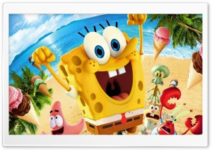 Spongebob Movie 2015 HD Wide Wallpaper for 4K UHD Widescreen desktop & smartphone