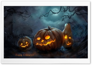 Spooky Halloween Ultra HD Wallpaper for 4K UHD Widescreen desktop, tablet & smartphone
