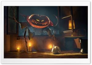 Spooky Jack-o-lantern, Halloween Ultra HD Wallpaper for 4K UHD Widescreen desktop, tablet & smartphone
