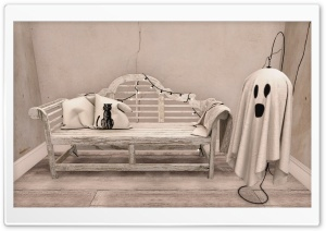 Spooky Room HD Wide Wallpaper for Widescreen