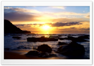 Spoon Bay Sunrise HD Wide Wallpaper for Widescreen