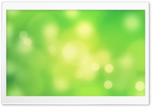 Spring Bokeh Vivid Green HD Wide Wallpaper for Widescreen