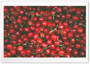 Spring Fruits Red Cherries Ultra HD Wallpaper for 4K UHD Widescreen desktop, tablet & smartphone
